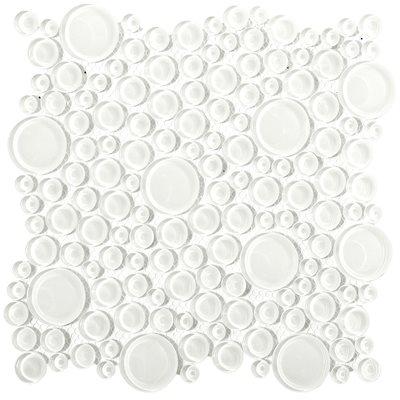 Loft Super White Circles (All Glass)