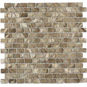 Pearl Brick Anchor Gray 1 / 2x1