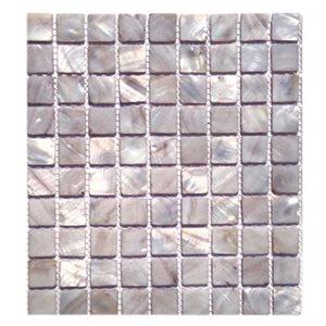 Pearl Mist Gray Flat 1x1 Squares