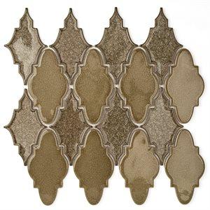 Close Out - Art Glass Sabino Smoky Fern