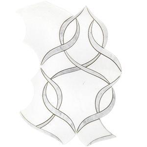 MJ Ophelia - White Thassos & White Carrara