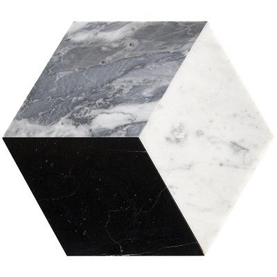Pari Grigio - Nero Carrara and Bardiglio Honed