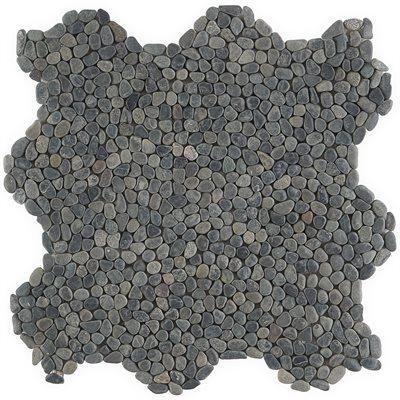 Pebblestone Black Lava Micro Natural Stone