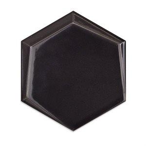 Hexagono -  Cuna Grafito Brillo