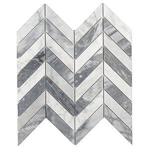 Falcon White Carrara & Bardiglio